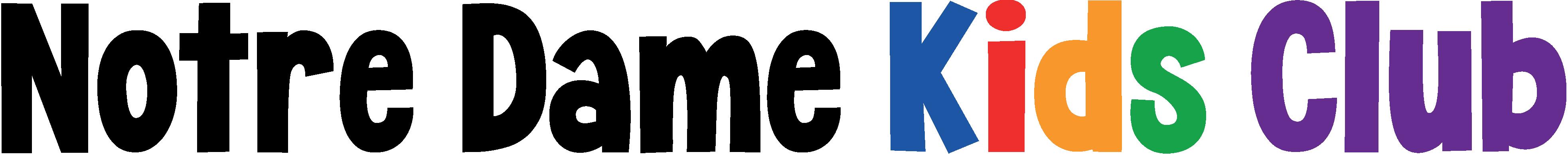 Notre Dame Kids Club Logo